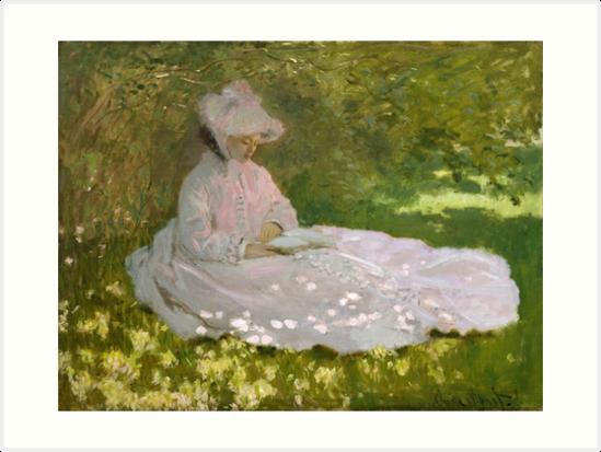 «Primavera de Claude Monet» de Robert Partridge