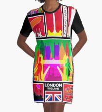 LONDON ENGLAND Graphic T-Shirt Dress