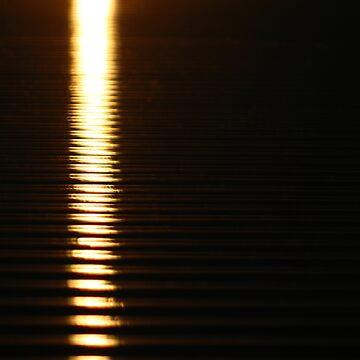 Abstract Sunset by mekana