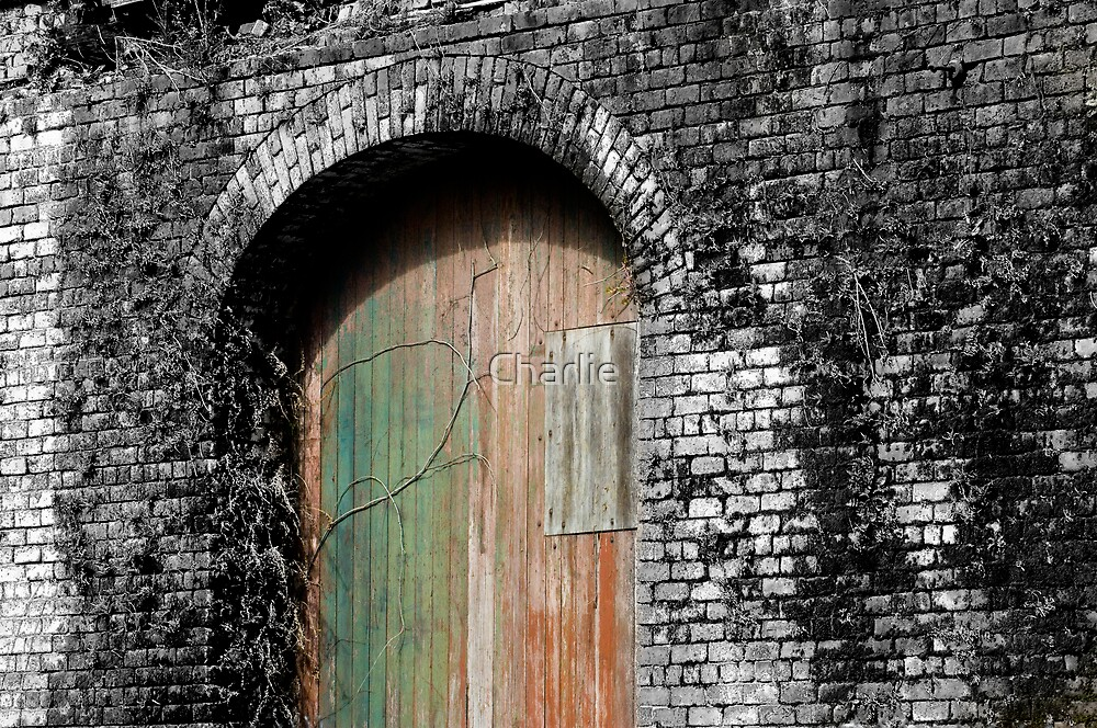 Civil War Era Arched Wall by Charlie