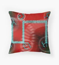 ODD CIRCUITS - Inversal Transference Throw Pillow