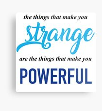 """The Things That Make You Strange Are the Things that Make You Powerful"" Ben Platt Acceptance Speech  Metal Print"