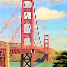 Golden Gate Bridge at 50 by John Schneider