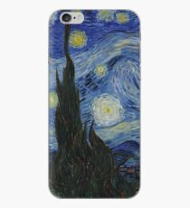 The Starry Night by Vincent van Gogh iPhone Case