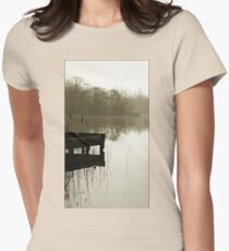 T tranquility 1 Womens Fitted T-Shirt