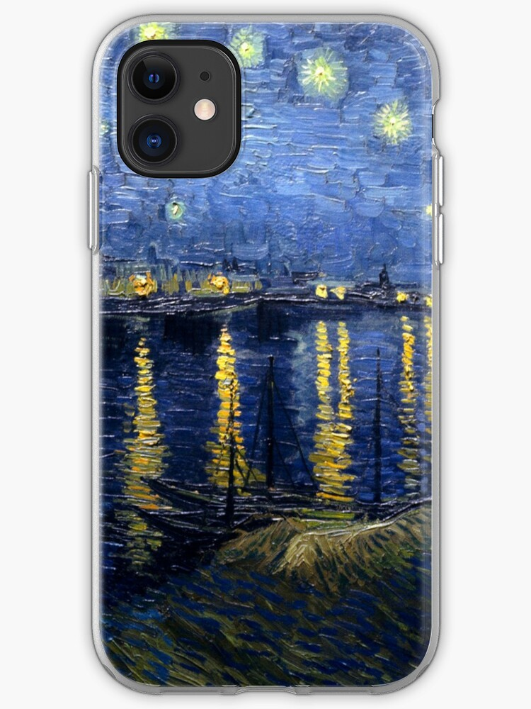 The Starry Night by Vincent van Gogh iPhone 11 case