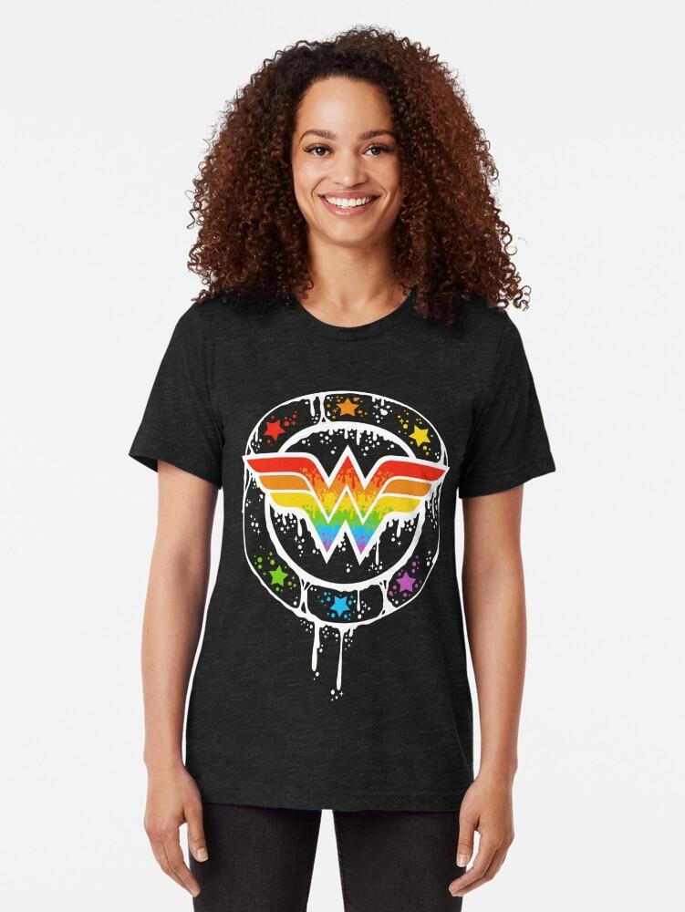 Alternative Ansicht von Stolze Frau Vintage T-Shirt
