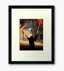 Bad dOves get Elected by Good Extraterrestrials & People who do not vote  Framed Print