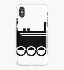locomotive icon iPhone Case/Skin