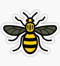 Manchester Bee Symbol Charity Strength Love Support Wall Art Sticker Home UK