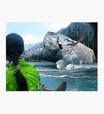 The Saiful Muluk lake Monster Photographic Print