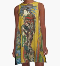 Courtesan (after Eisen) by Vincent van Gogh A-Line Dress