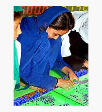 Electroweaving in Cholistan Photographic Print