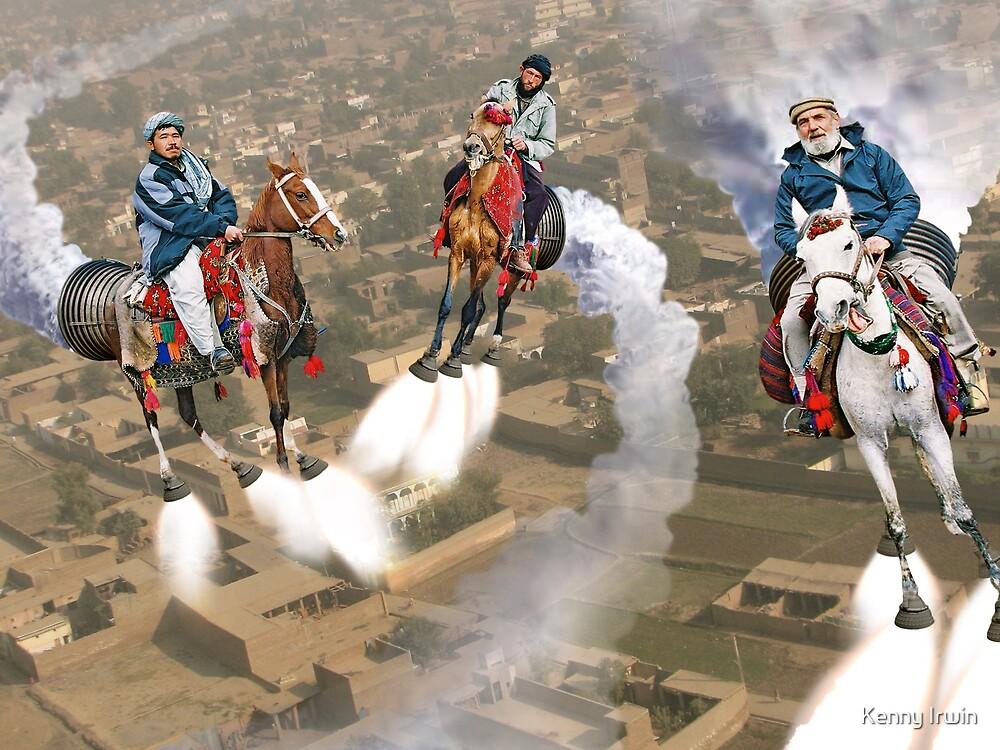 Peshawar پشاور Cronosphere Rocket Horse Racers by Kenny Irwin