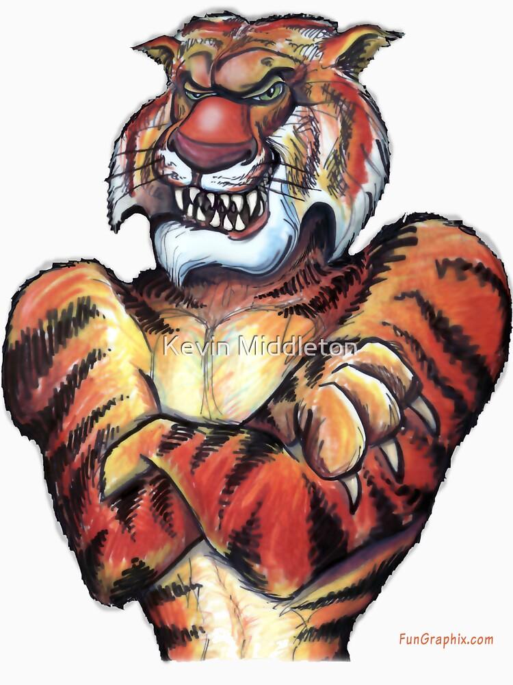 Tiger by kevinmiddleton