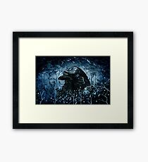 The Three Eyed Raven Framed Print