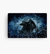 The Three Eyed Raven Canvas Print