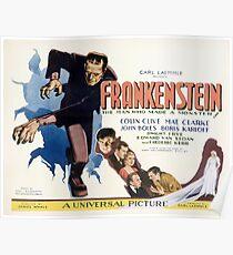Frankenstein (Wide) Poster
