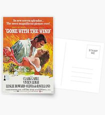 Gone With The Wind - 2 Postcards