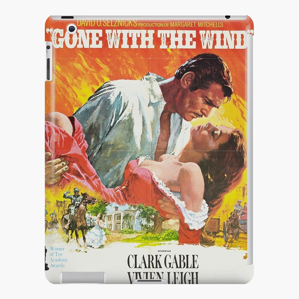 Gone With The Wind - 2 iPad Case & Skin