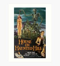 House on Haunted Hill Art Print