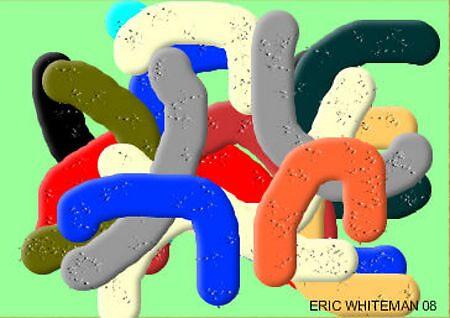 (BUS STOP ) ERIC WHITEMAN ART  by eric  whiteman