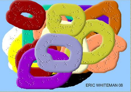 (CIRCLES OF THE MIND I) ERIC WHITEMAN  ART  by eric  whiteman
