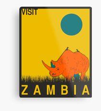 Zambia Metal Print