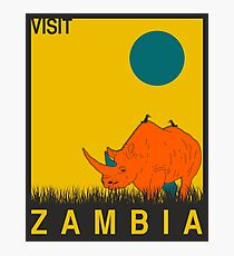 Sambia Fotodruck