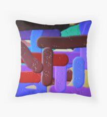 (TRAIN STATION ) ERIC WHITEMAN  ART Throw Pillow