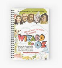 Cuaderno de espiral El mago de Oz (Alt)