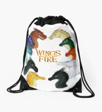 Wings of Fire - All Together Drawstring Bag
