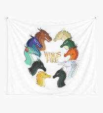 Wings of Fire - All Together Wall Tapestry