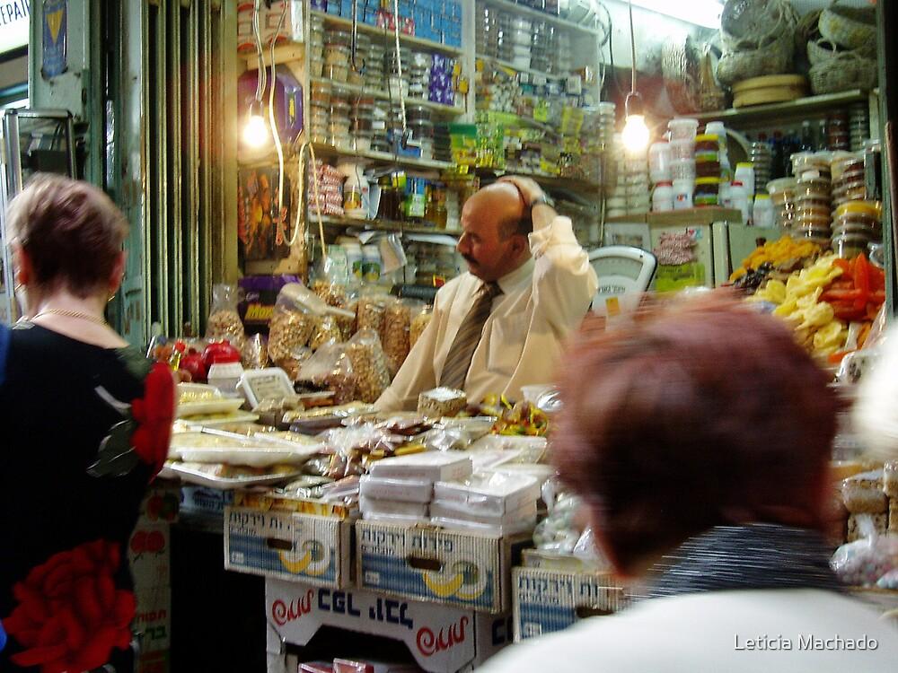 Jerusalem Market  by Leticia Machado