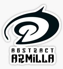 Abstract Armilla Symbol Collection Sticker