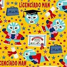 Wrestler Licenciado Man by Sonia Pascual