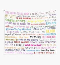 sing! Wall Tapestry