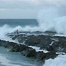 snapper rocks by Bruce  Dickson