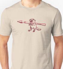 Ballistic Beaver Unisex T-Shirt