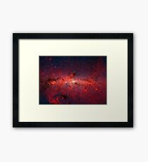 The Milky Way in Infrared Framed Print