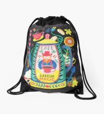Coffee Lovers-Barista Magic Drawstring Bag