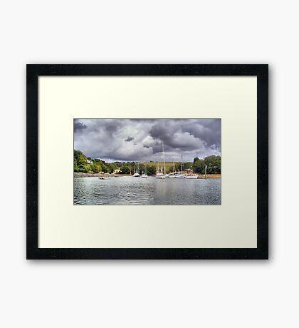 At Anchor Framed Print
