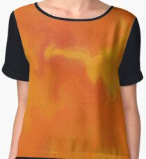 Helimiussa V1 - digital abstract Chiffon Top