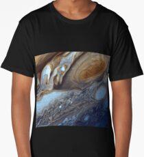 Storms on Jupiter Long T-Shirt