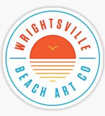 Wrightsville Beach Art Company Sticker