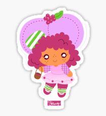 Rasberry Tart Sticker