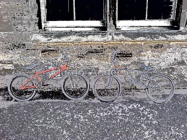 edited bikes... by Murdo  Anderson