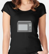 MICROWAVE OVEN  Women's Fitted Scoop T-Shirt