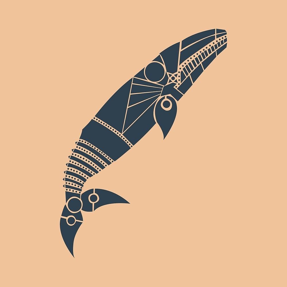 gray whale by Hinterlund