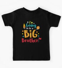 Big Brother Baby Announcement Shirt Kids Clothes